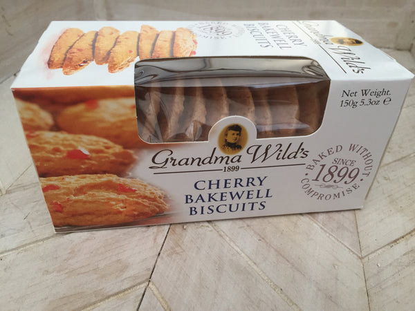 Grandma Wilds Cherry Bakewell Biscuits
