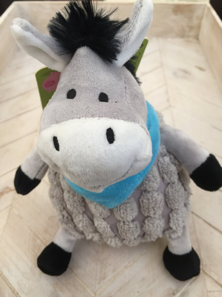 Plush Donkey Dog Toy