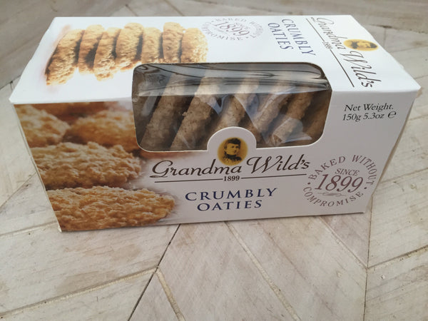 Grandma Wild's Crumbly Oaties Biscuits