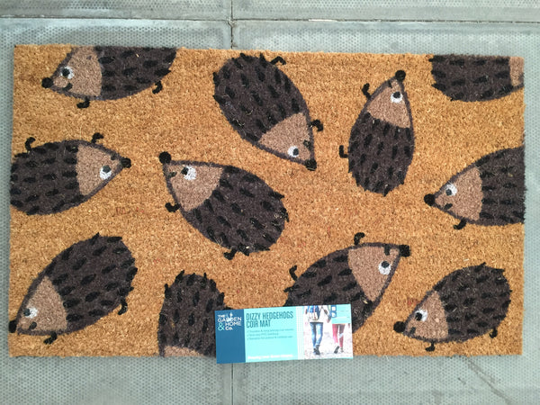 Crazy Hedgehog Doormat