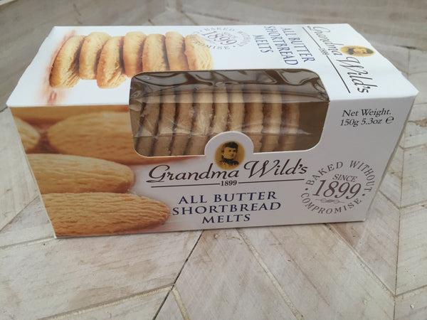 Grandma Wild's All Butter Shortbread Melts Biscuits