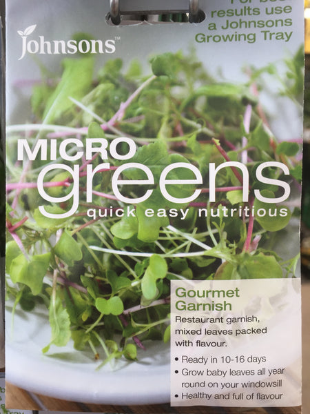 Micro Greens Seeds- Gourmet Garnish