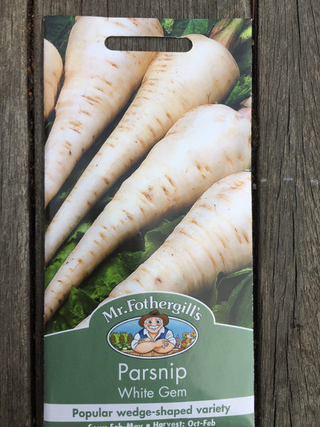 Mr Fothergill's Parsnip White Gem seeds