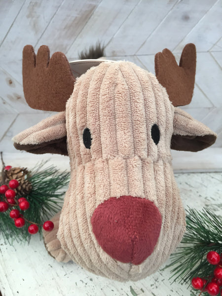 Large Cord Reindeer Dog Toy