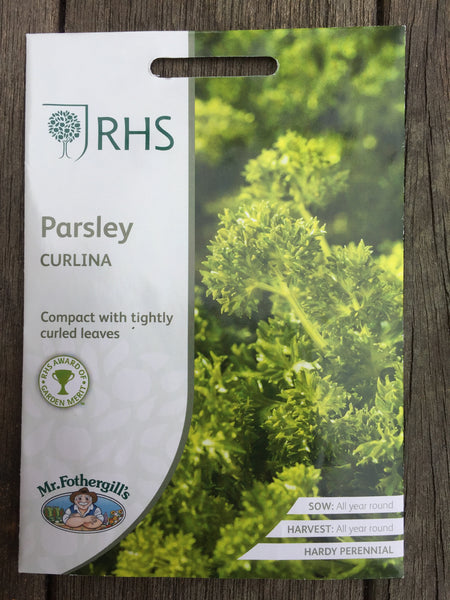 RHS Parsley Curlina seeds