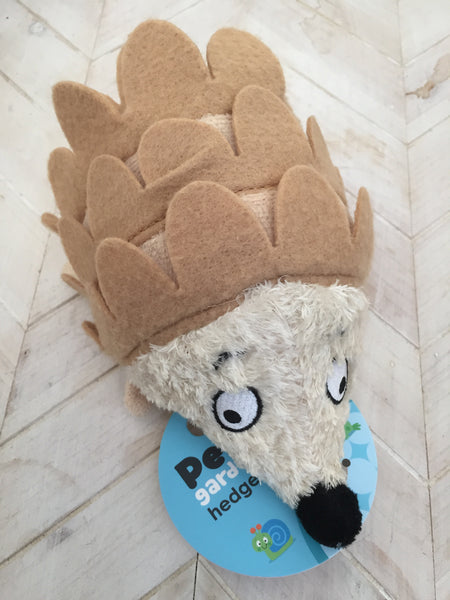 Plush Hedgehog Dog Toy