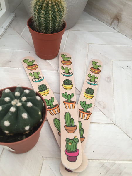 Cacti Lovers Nail File Set