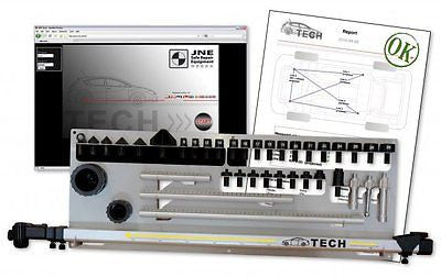 ALLVIS TECH MECHANICAL MEASURING SYSTEM - BEFORE/AFTER PRINT OUT - TEC-0100M - frametech.us
