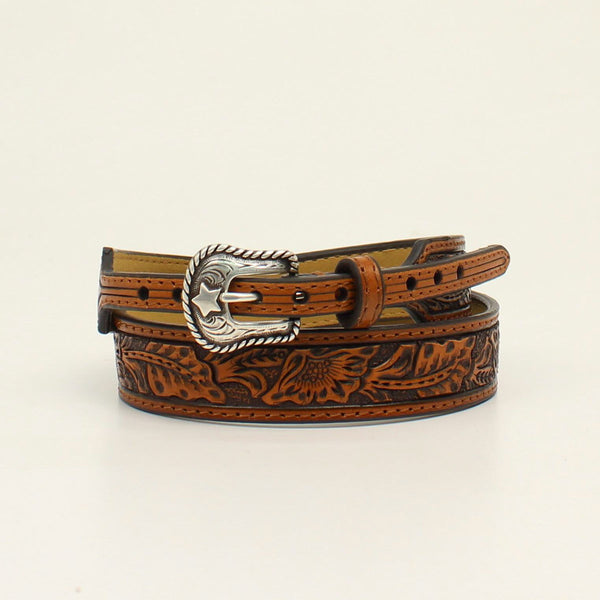 M&F Western Floral Tooled Hatband