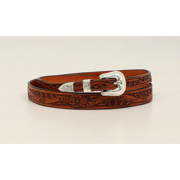 M&F Western Hand Tooled Genuine Leather Hatband