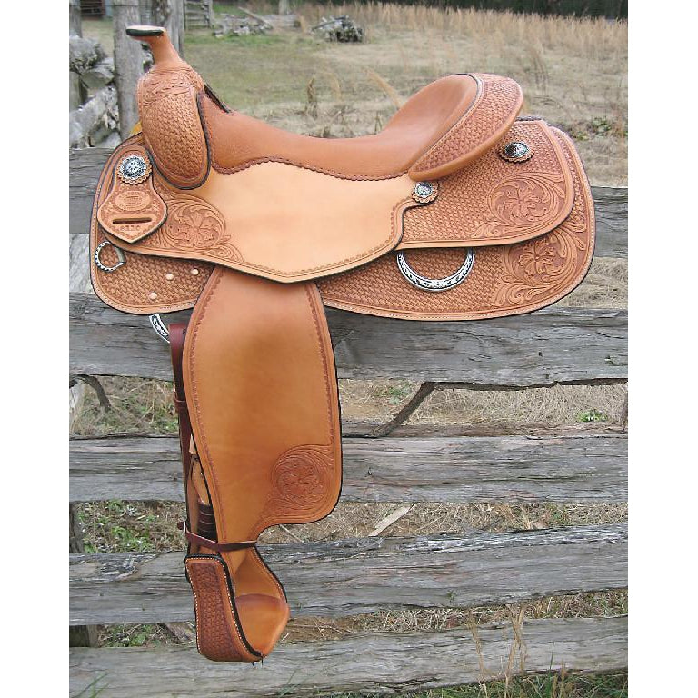 RW Bowman Sheridan Reiner Saddle - West 20 Saddle Co.