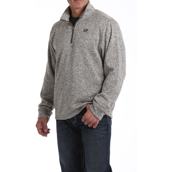 Cinch Mens 1/4 Zip Sweater Pullover