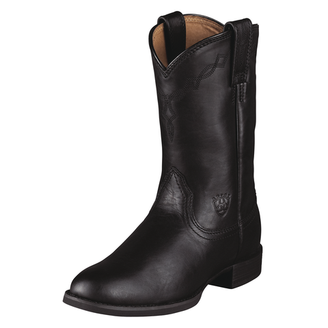 Ariat Women's Heritage Roper Boot-Black