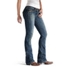Ariat Amber Double X Boot Cut Western Jeans - Cloud - West 20 Saddle Co.