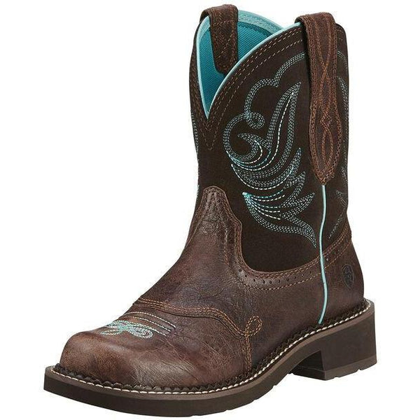 Ariat Fatbaby Heritage Royal Chocolate Dapper Western Boot