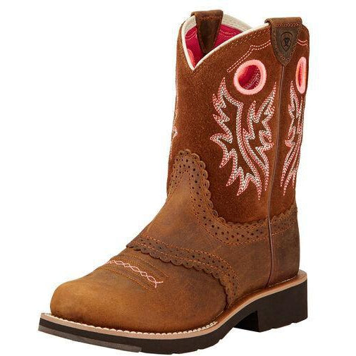 Ariat Kids Fatbaby Cowgirl Western Boot