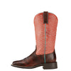 Ariat Women's Outsider Yukon Brown/ Fiery Red Boot - West 20 Saddle Co.