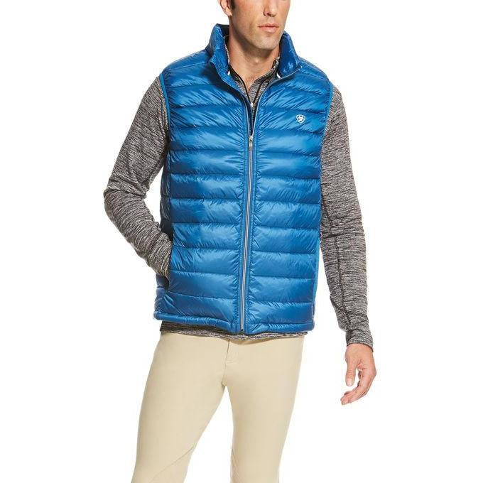 Ariat Moroccan Blue Ideal Down Vest