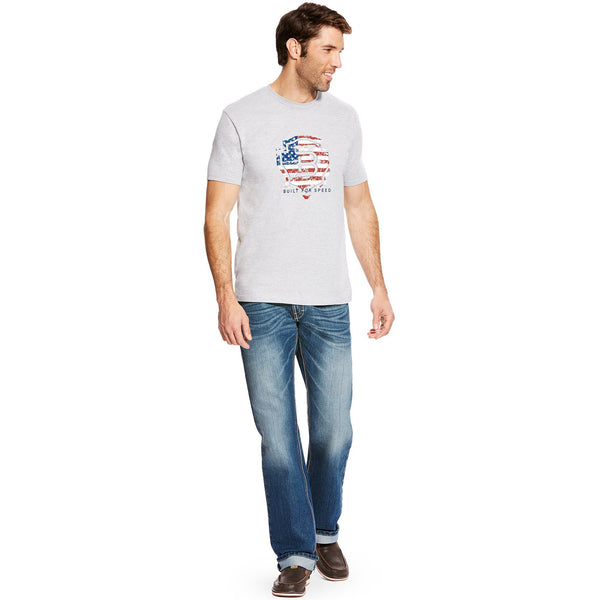 Relentless American Flag Graphic Tee - West 20 Saddle Co.