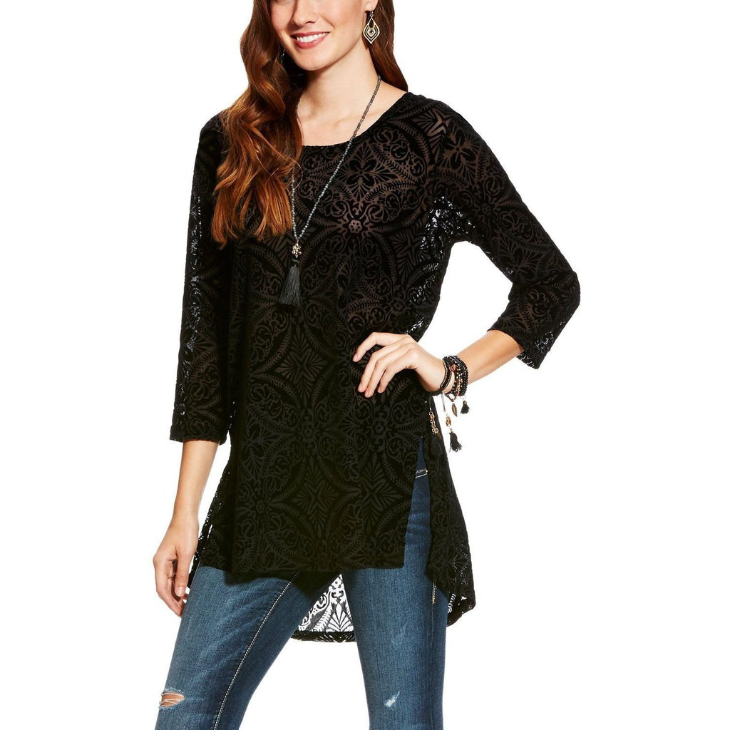 Ariat Kaci Tunic Black - West 20 Saddle Co.