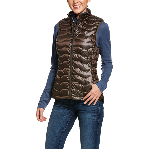Ariat Womens Banyan Bark Ideal 3.0 Down Vest