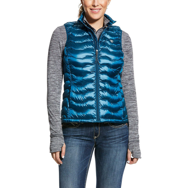Ariat Womens Dream Teal Ideal 3.0 Down Vest