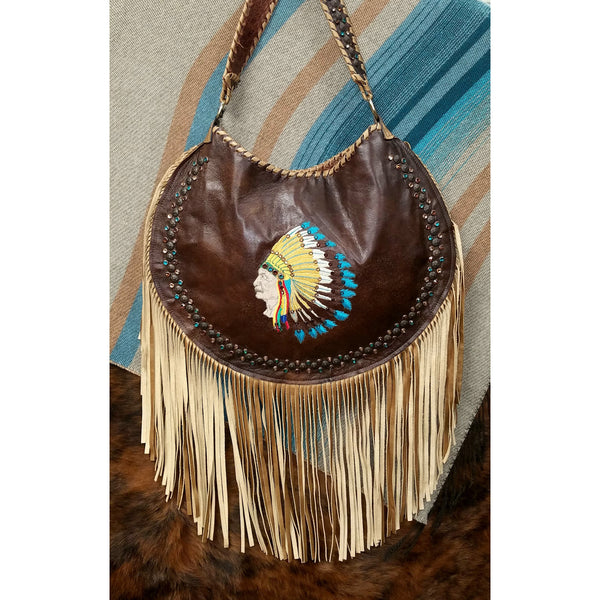KurtMen Indian Headdress Purse