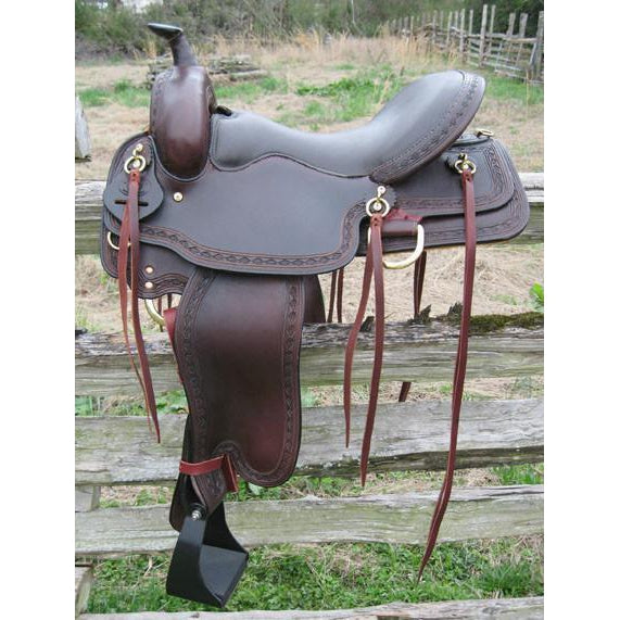 Draft and Haflinger Saddles – West 20 Saddle Co