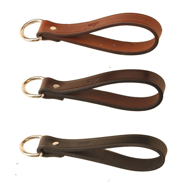 Tory Leather Girth Loop - West 20 Saddle Co.
