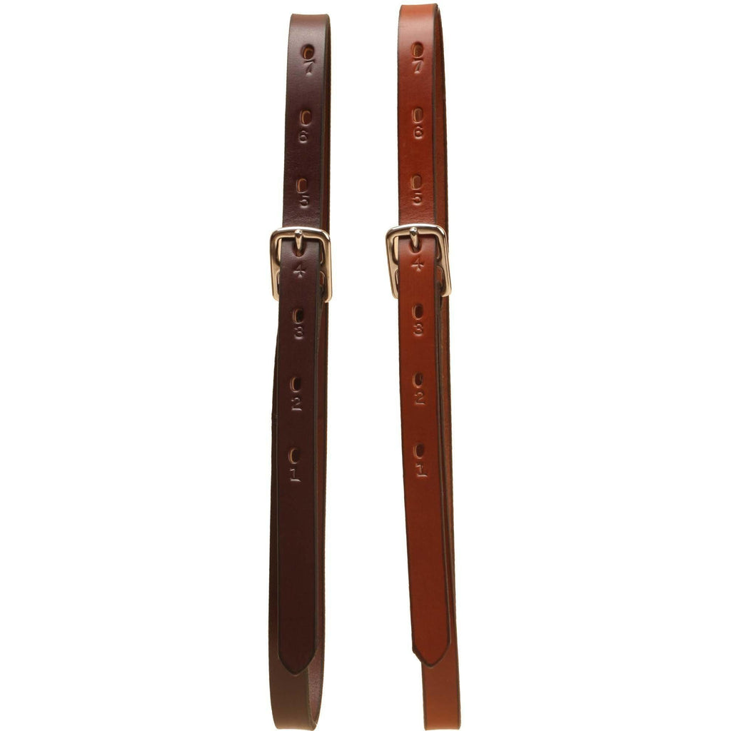 "Tory Leather 3/4"" Childen's Stirrup Leathers - West 20 Saddle Co."