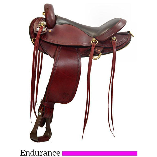 Big Horn Endurance Flex Saddle - West 20 Saddle Co.