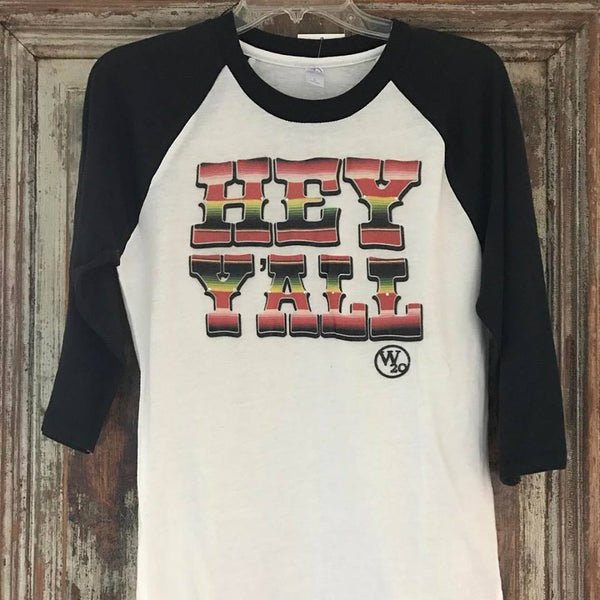 West 20 Saddle Co. Hey Y'all Tee