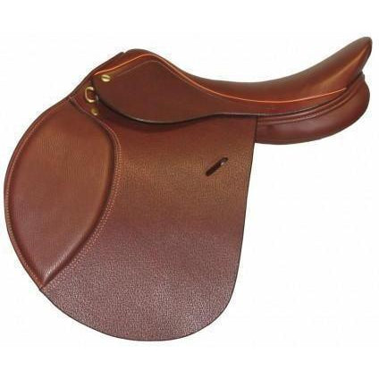 Henri de Rivel Advantage Close Contact Saddle - Flocked - West 20 Saddle Co.