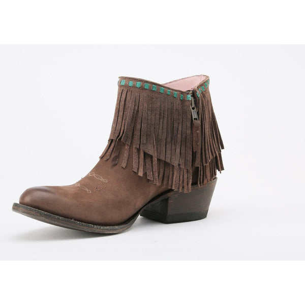 Miss Macie Fringe Benefits Cowgirl Boots - West 20 Saddle Co.