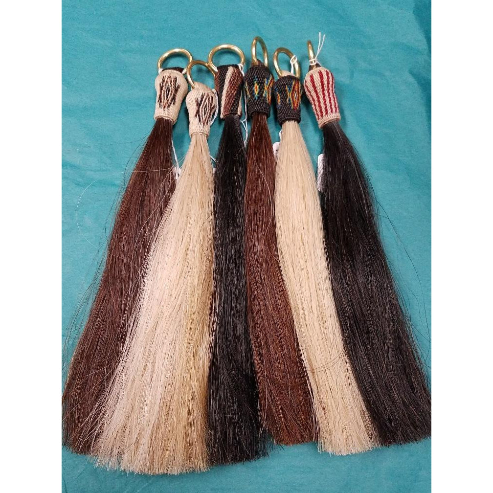 Austin Accent Inc. Horse Hair Shufly With Long Hitched Knot - West 20 Saddle Co.