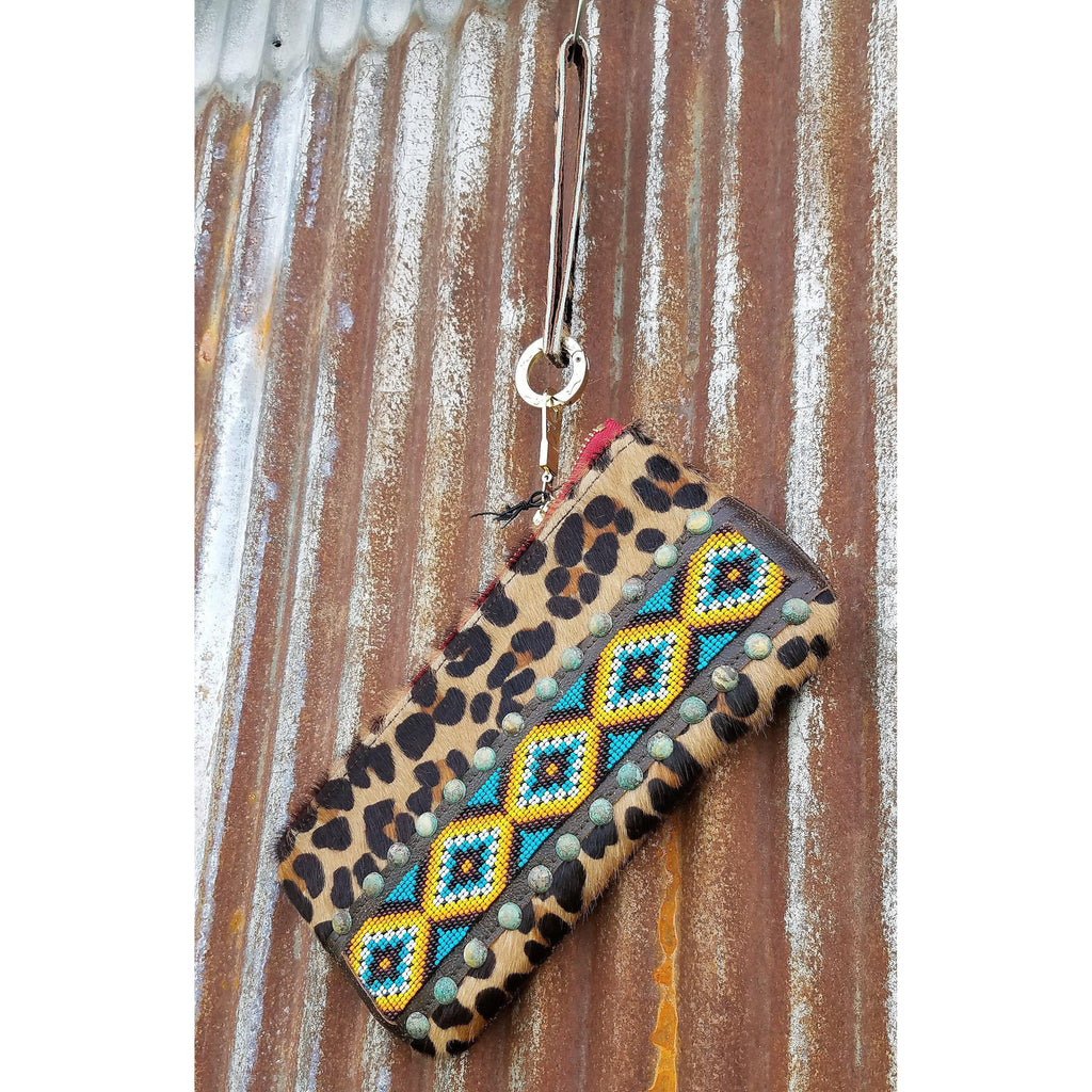 KurtMen Bright Beadwork Accessory Pouches With Wristlets - West 20 Saddle Co.