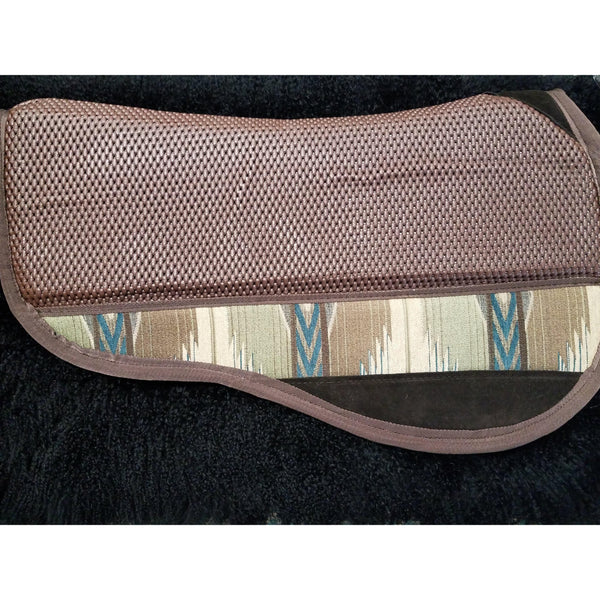 Equi-Tech Pro Series Contoured Pad - Round - West 20 Saddle Co.