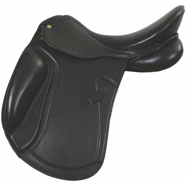 Henri de Rivel Dortmund Dressage Saddle - Flocked - West 20 Saddle Co.