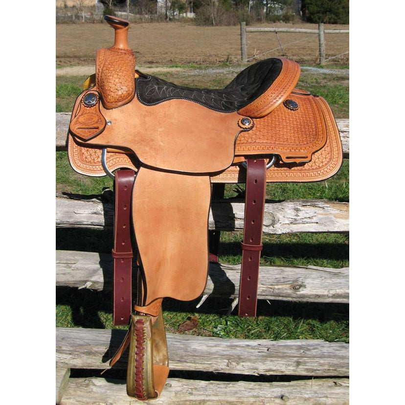 RW Bowman Working Class TM Roper - West 20 Saddle Co.