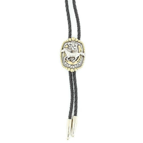 M&F Western Products Running Horse Bolo Tie - West 20 Saddle Co.