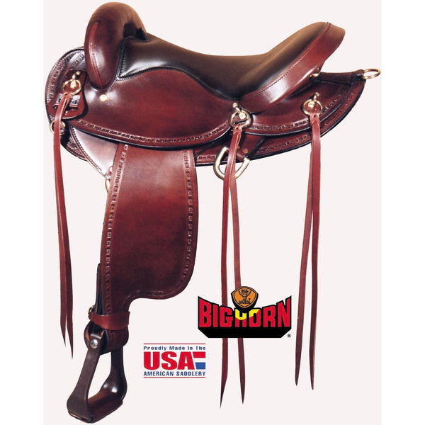Big Horn Endurance Flex Tree Saddle - West 20 Saddle Co.