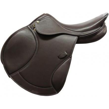 Henri de Rivel Carbon Fiber On Cantle Close Contact Saddle - West 20 Saddle Co.