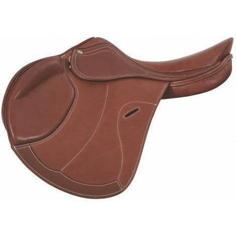 Henri de Rivel Galia Covered Close Contact Saddle - West 20 Saddle Co.