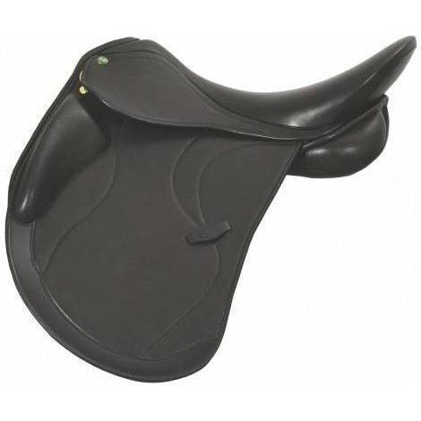 Henri de Rivel Ventura Covered Dressage Saddle - Flocked - West 20 Saddle Co.