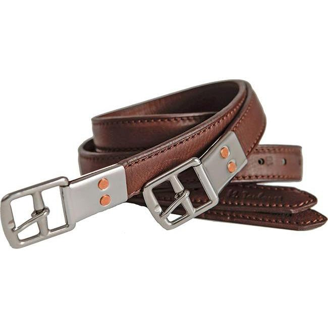M. Toulouse MTL European Style Double Leather Stirrup Leathers - West 20 Saddle Co.