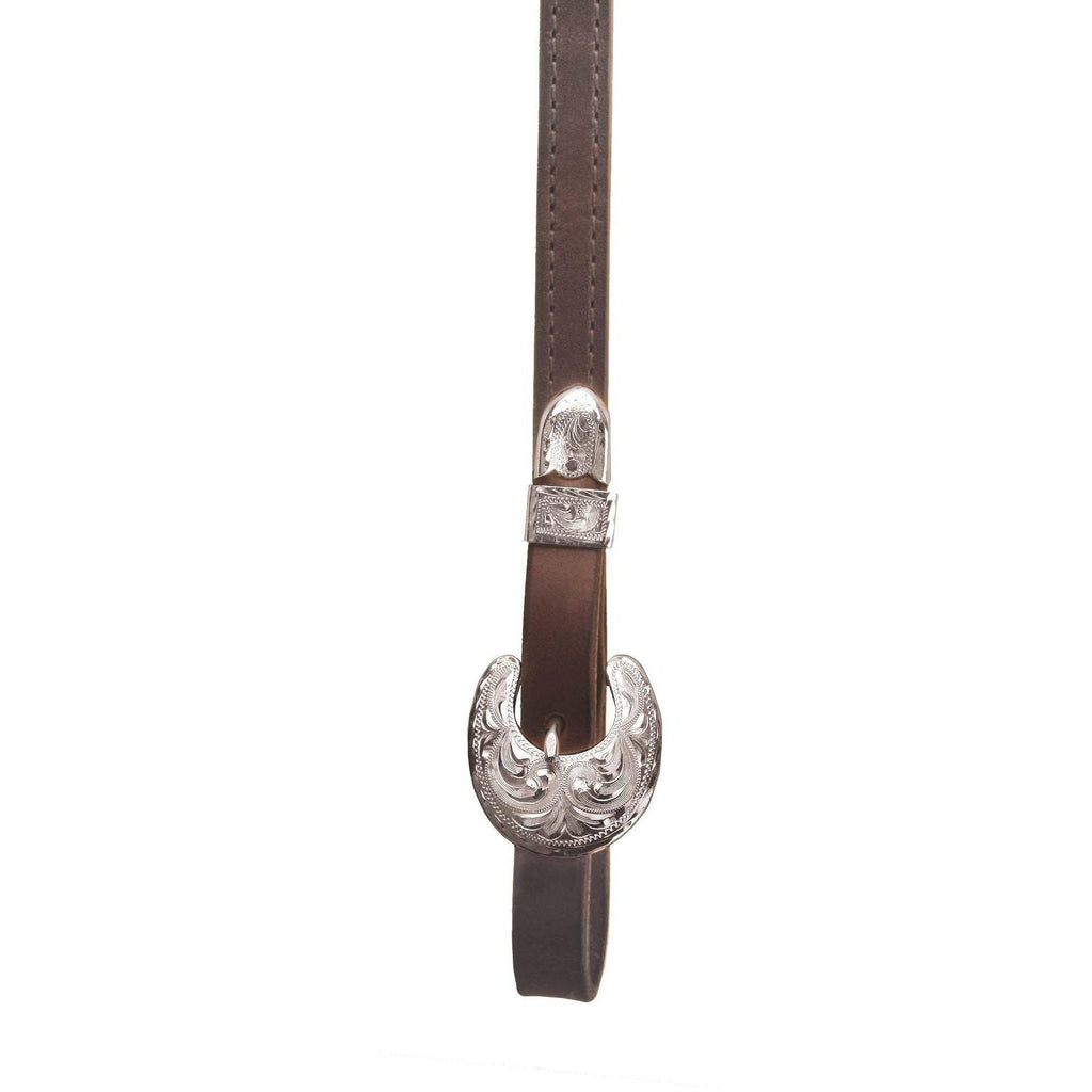 Tory Leather Oklahoma Buckle Rein - West 20 Saddle Co.