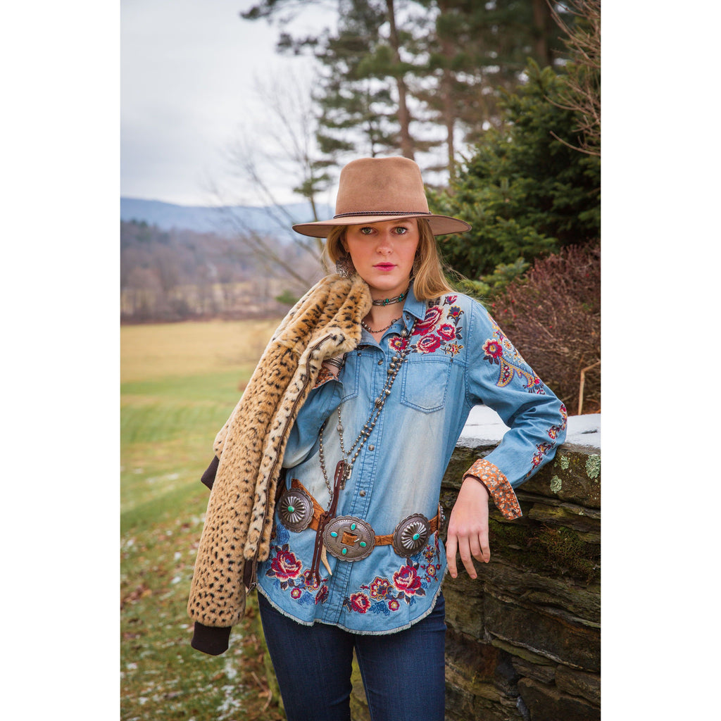 Tasha Polizzi Margaret Rose Shirt - West 20 Saddle Co.