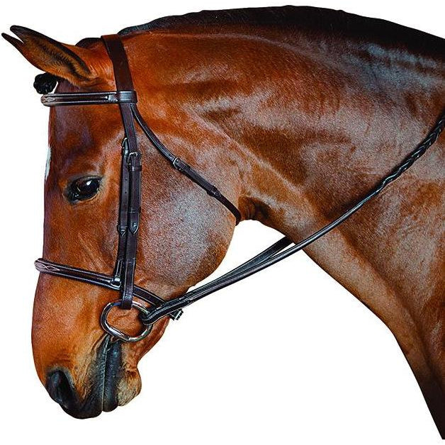 M. Toulouse Standard Hunter Bridle - West 20 Saddle Co.
