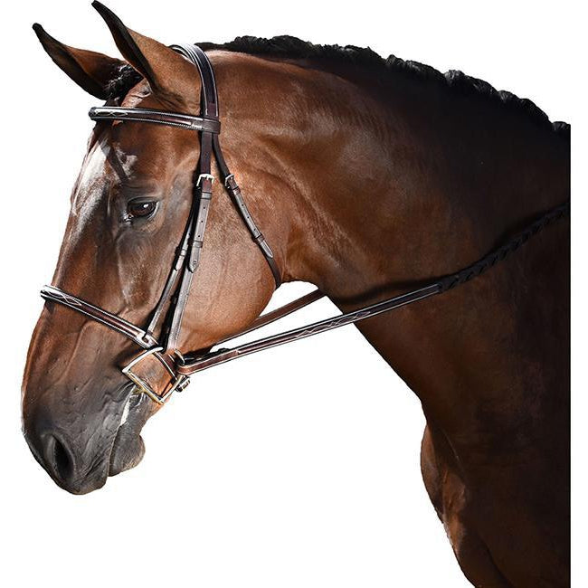 M. Toulouse Chocolate Annice Hunter Bridle - West 20 Saddle Co.
