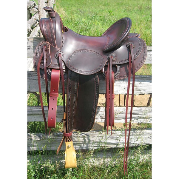RW Bowman Mounted Shooter II Saddle - West 20 Saddle Co.